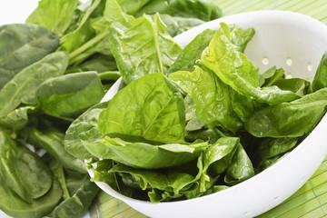 Spinat (Spinacia oleracea), Schälchen