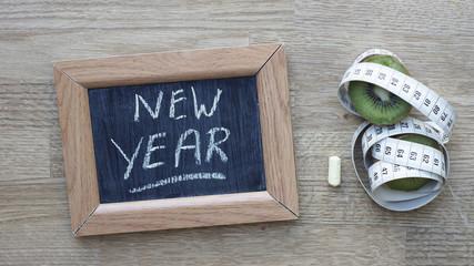 New year written