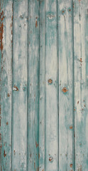 volet bleu vielli en bois