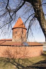 Ancient Lithuanian castle of Kaunas