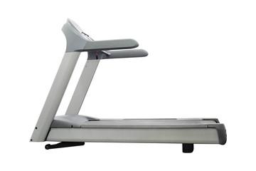 image of treadmill isolated