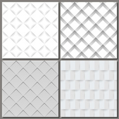 Set of four abstract backgrounds.