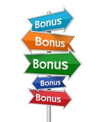 bonus signs