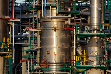 Oil refinery tubes and pipes
