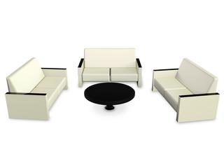 Стол и диваны