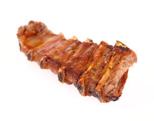 juicy barbecued pork ribs