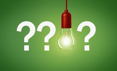 Frage / Antwort / Idee / Konzept
