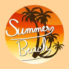 A summer template