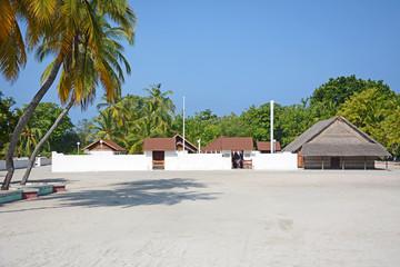 Utheemu Ganduvaru Palace, Malediven