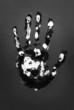 Hand print.