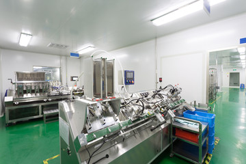 pharmaceutical factory workshop interior