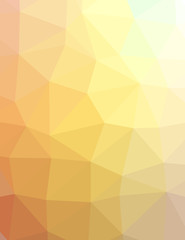 Multicolored polygonal background, template illustration