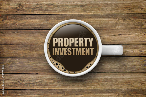 canvas print picture Property Investment