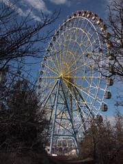 Ferris wheel at Mtatsminda park (Tbilisi, Georgia)