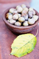harvest nuts