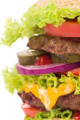 hamburger layers