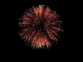 Fireworks design element