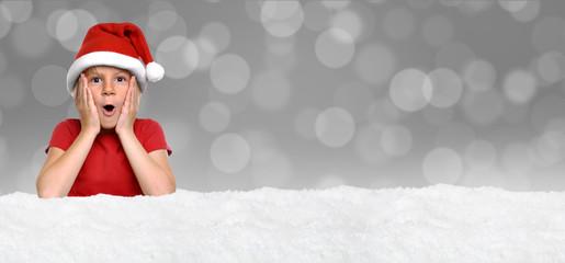 Weihnachten / Girl / Hintergrund