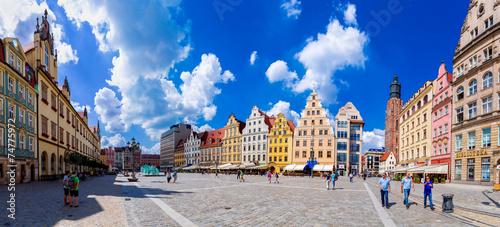 Fototapeta Wroclawr, Market Square