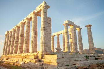 Poseidontempel Kap Sounion Griechenland