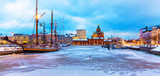 Winter in Helsinki, Finland