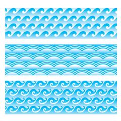 seamlessly sea wave pattern 2