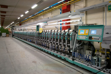 Textile industry - Winding machine