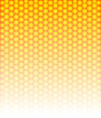 Shiny and stylish honeycomb background.