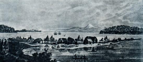 Petropavlovsk-Kamchatsky ca. 1740