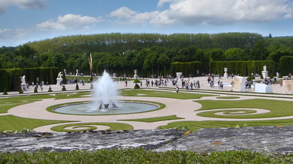 Statues and Sculpture in the Versailles Park and Gardens, France