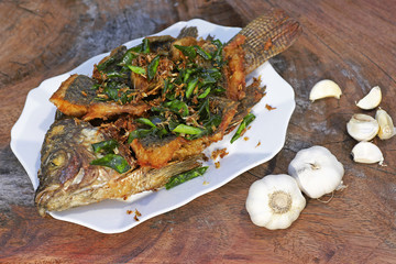 Deep Fried Tilapia grilled fish
