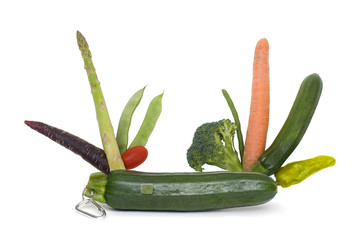 Swiss army veg. Penknife has a vegetable for every occasion.
