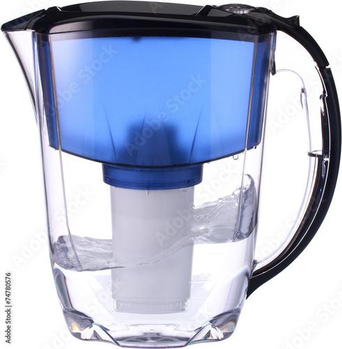 Leinwanddruck Bild Фильтр для воды