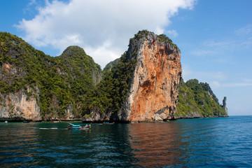 Island of Phi Phi Leh in Thailand