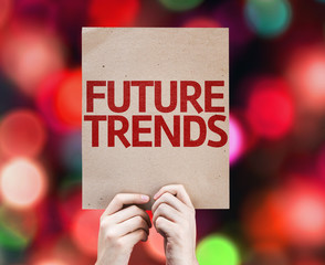 Future Trends card with colorful background
