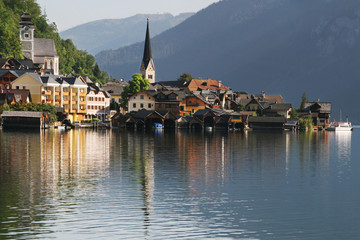 Hallstatt reflected