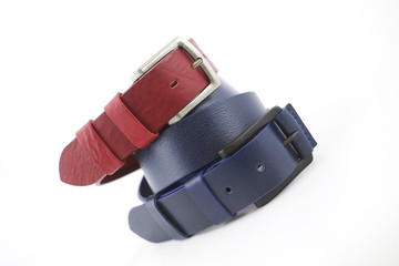 Colorful leather straps