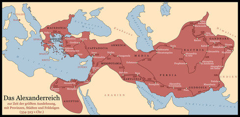 Alexander The Great Empire German
