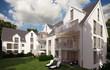 Mehrfamilienhaus im Sonnenlicht - family home in the sun