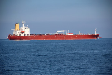 tankers on the high seas