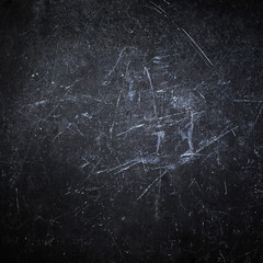 Abstract Black background with spotlight. Dark grunge textured w