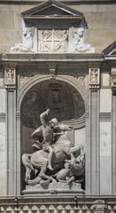 Sculpture at the Palace of the Generalitat (Palau de la Generali