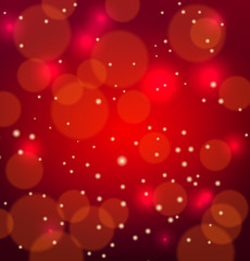 abstract red vectoral background