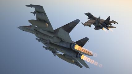 battle planes su-37