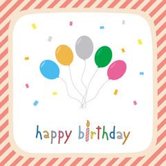 Happy birthday greeting card2