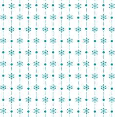 Seamless christmas winter pattern
