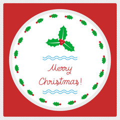 Merry Christmas greeting card52