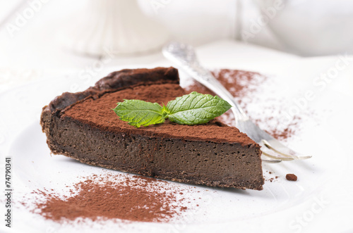 Schokoladen Tart - 74790341