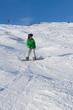 Kind am snowboard
