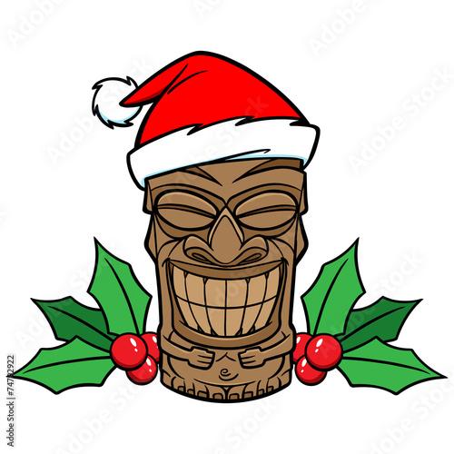 Christmas Tiki - 74792922